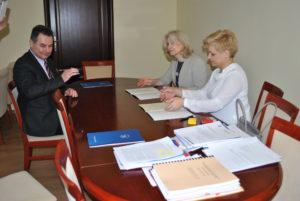 Podpisanie porozumień o współpracy ze szkołami średnimi - 8 marca 2018