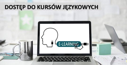 Kursy językowe – dostęp do Platformy e-learning