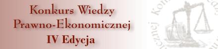 Wyniki IV Edycji Konkursu Wiedzy Prawno-Ekonomicznej