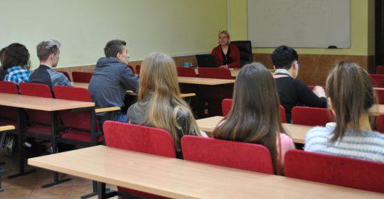 Spotkanie z uczniami LO w Chojnie – Przedmiot podstawy Prawa (1)