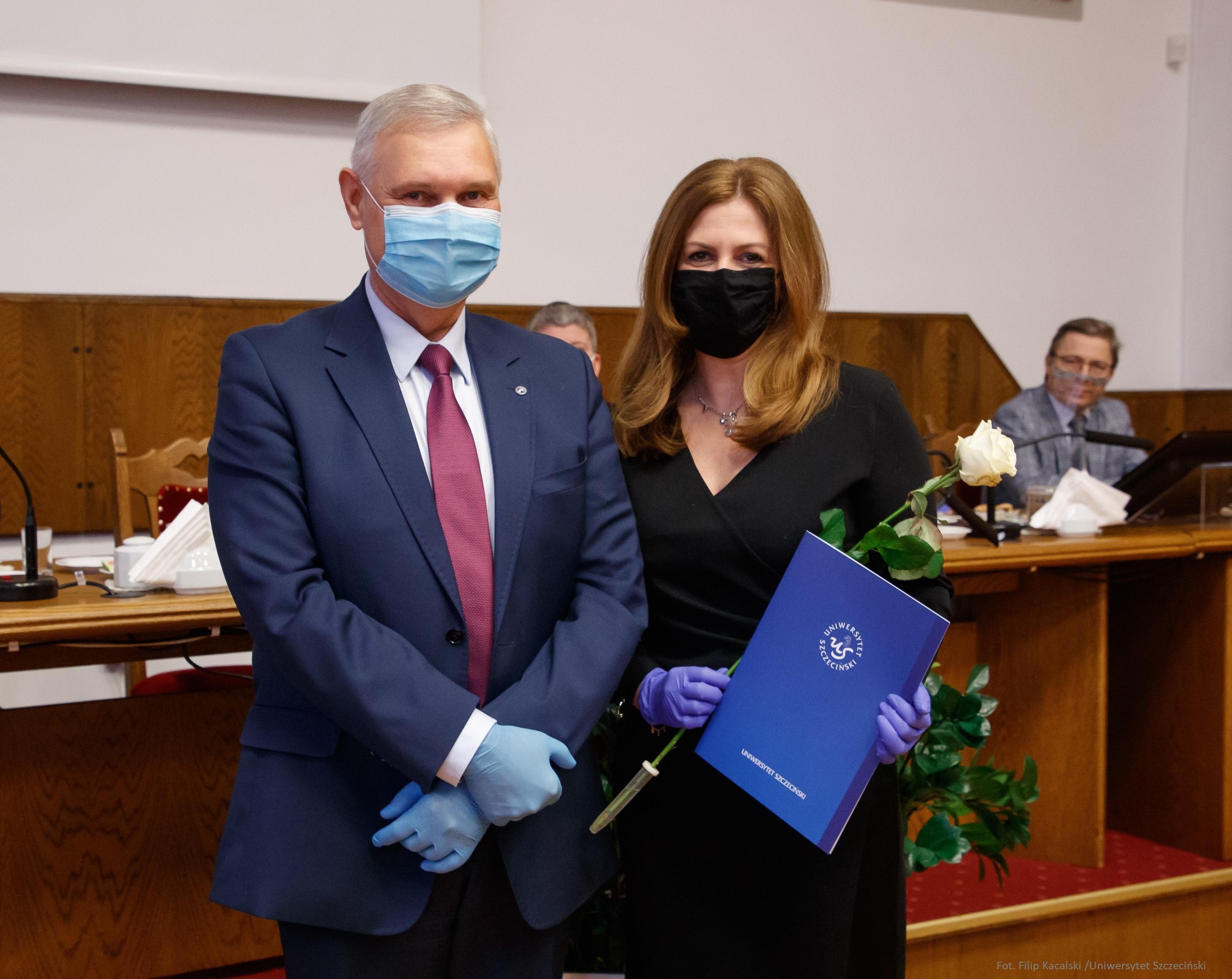 Pani dr hab. Ewelina Cała-Wacinkiewicz, prof. US Dziekanem Wydziału Prawa i Administracji US