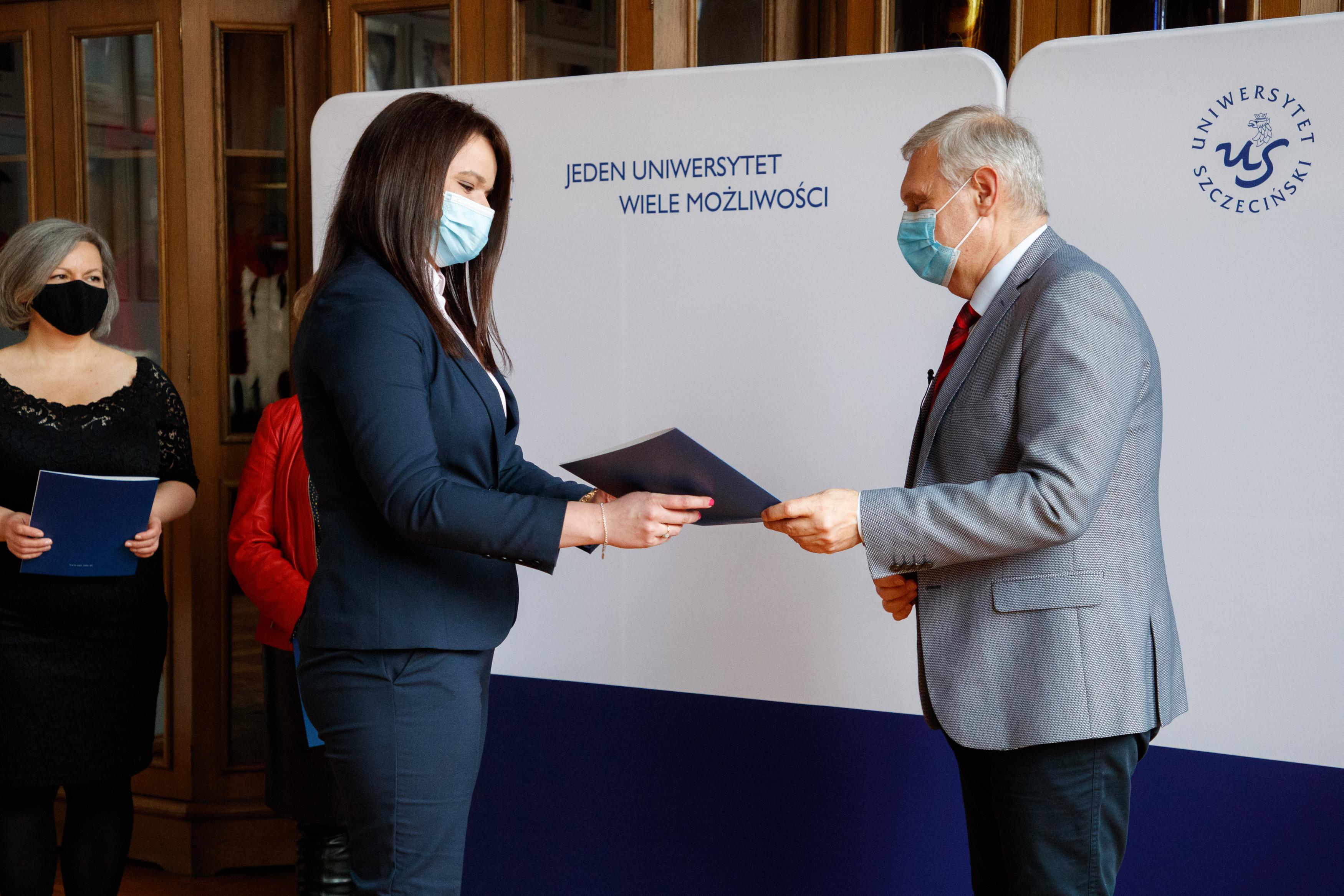 Pani Doktor Adriana Tomczyk powołana na stanowisko Rzecznika Praw Akademickich Uniwersytetu Szczecińskiego
