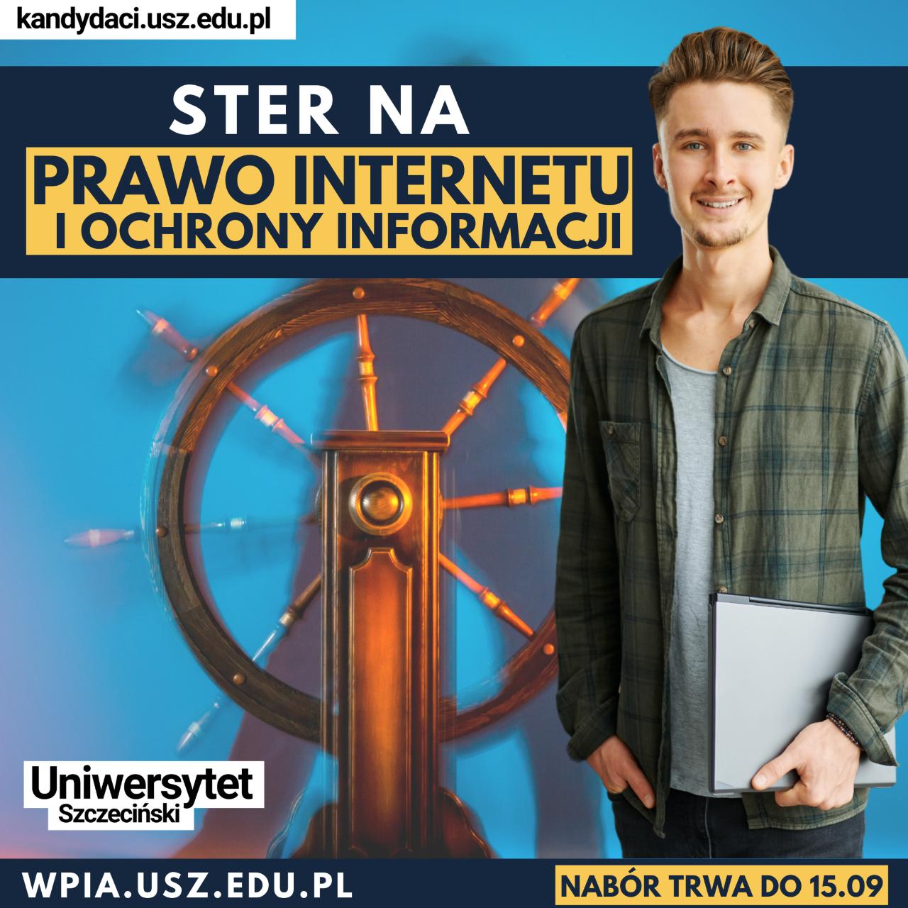 Prawo Internetu i ochrony informacji (studia pierwszego stopnia) – rekrutacja trwa, dołącz do nas!