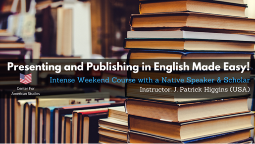 Presenting and Publishing in English Made Easy – kurs online