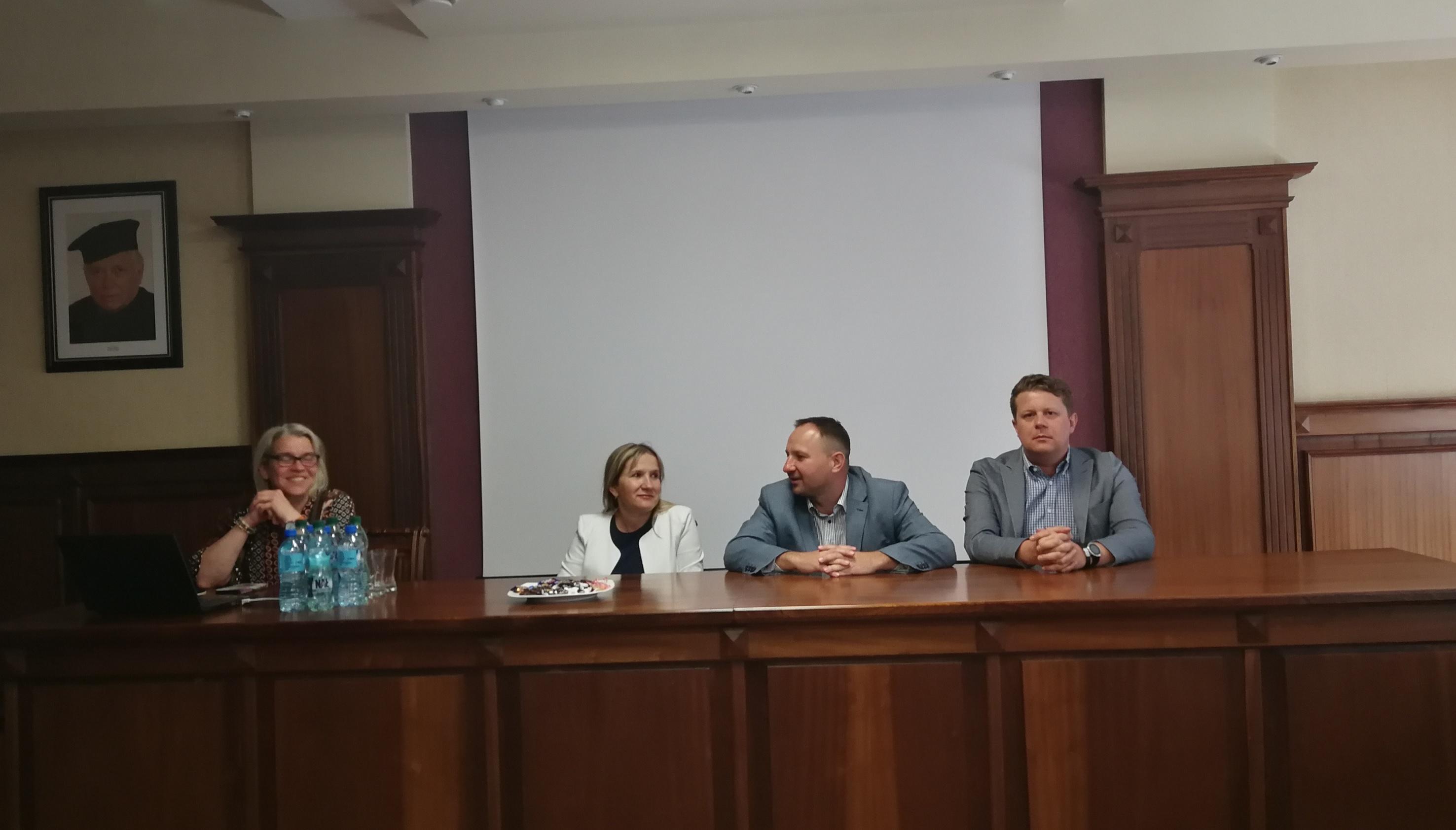 Podziękowanie za spotkanie z przedstawicielami OIRP dot. naboru i odbywania aplikacji radcowskiej w OIRP w Szczecinie