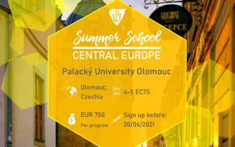 Call for Application – Summer School Central Europe 2021