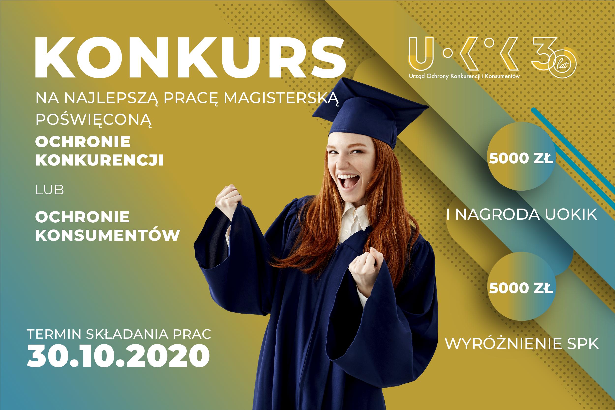Konkurs na najlepsze prace magisterskie – UOKiK