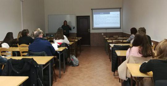 """Spotkanie z uczniami LO w Szczecińskiej Szkole Florystycznej w Szczecinie – """"Prawa pacjenta"""""""