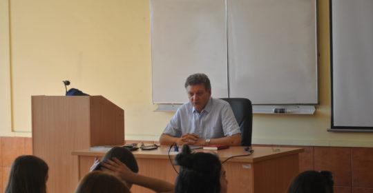 Wykład dla uczniów XI LO w Szczecinie