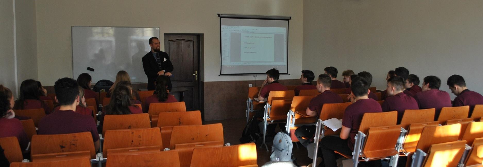 Spotkanie z uczniami XIII LO w Szczecinie