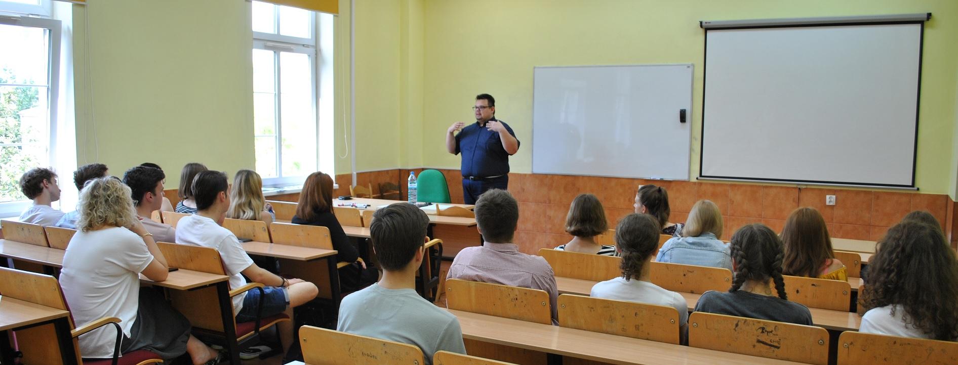 Spotkanie z uczniami XI Liceum Ogólnokształcącego w Szczecinie