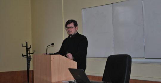 Wykład dra Wojciecha Bożka dla uczniów XIII LO w Szczecinie