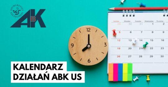 Kalendarz działań Akademickiego Biura Karier US
