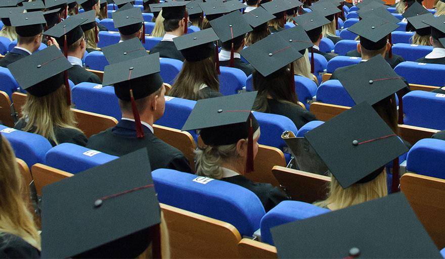 Pierwsze ogólnouczelniane absolutorium studentów Uniwersytetu Szczecińskiego