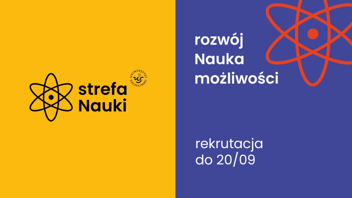 Projekt Strefa Nauki – rekrutacja do 20 września br.