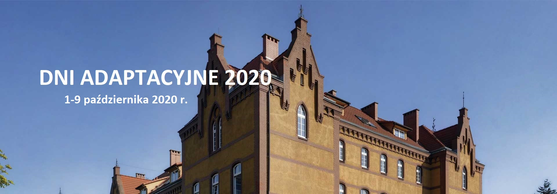 Dni Adaptacyjne 2020 – informacje dla studentów pierwszego roku