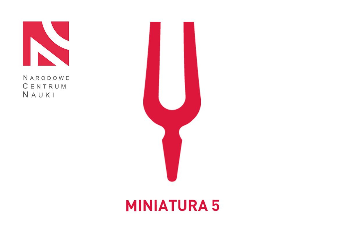 Wyniki konkursu MINIATURA 5 – Narodowe Centrum Nauki