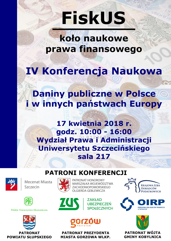 Iv Konferencja Naukowa Daniny Publiczne W Polsce I Innych
