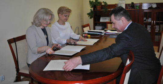 Podpisanie umów patronackich z III Liceum Ogólnokształcącym w Szczecinie i VI Liceum Ogólnokształcącym w Szczecinie