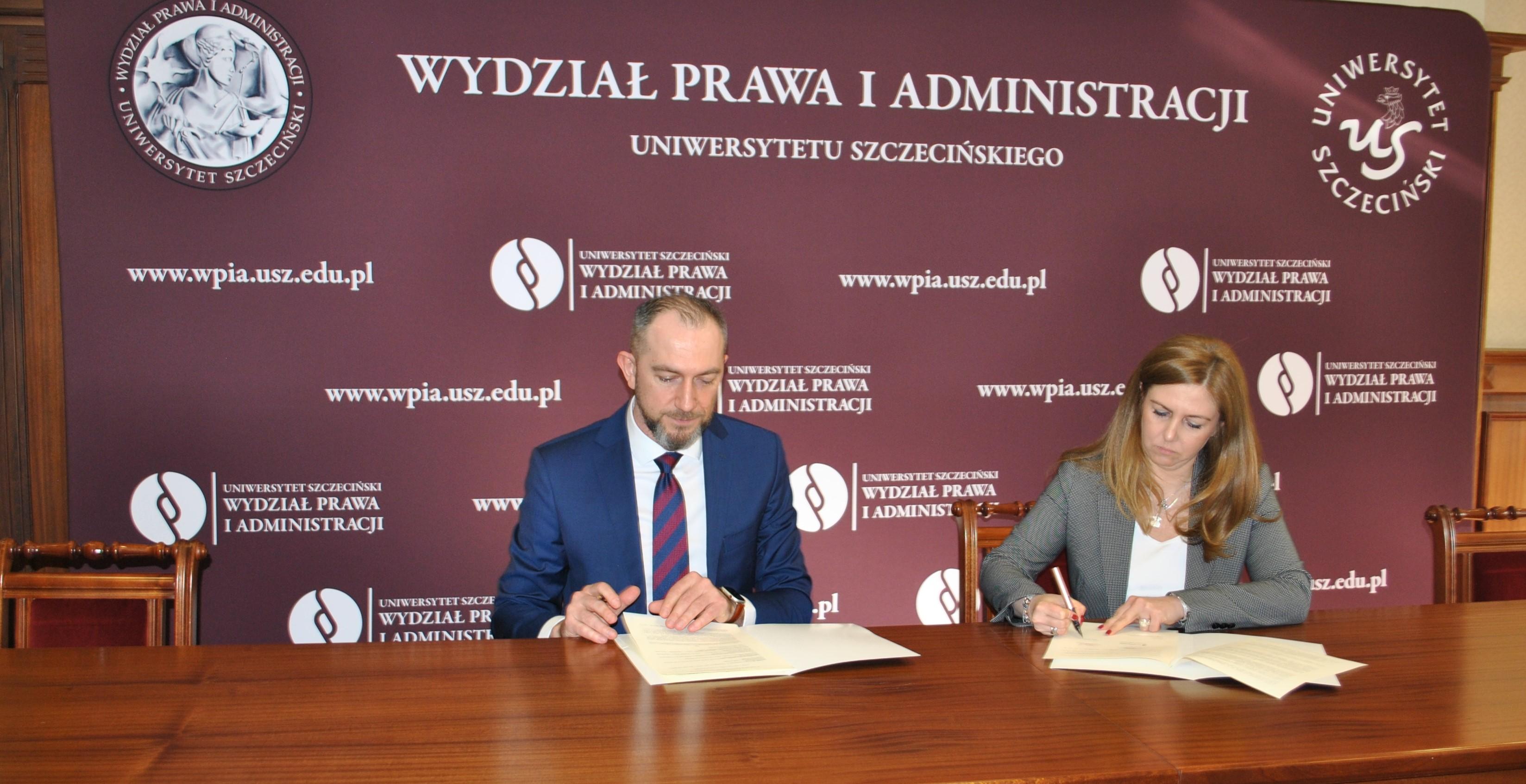 Podpisanie porozumienia w sprawie działalności eksperckiej pomiędzy WPiA US i Currenda Sp. z o.o.